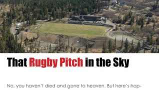 That Beautiful Rugby Pitch in the Sky