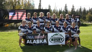 USA Women's Sevens Rugby team visits Alaska